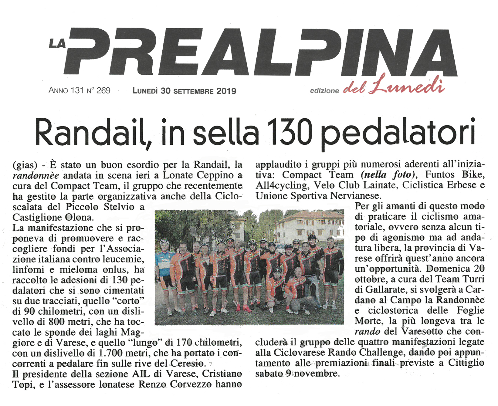 Prealpina - Randoail